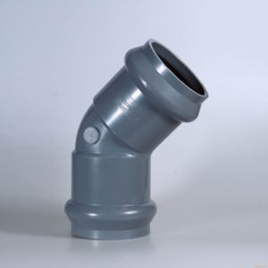 UPVC/CPVC 45 Degree Elbow (F/F) Pipe Fitting High Quality pictures & photos
