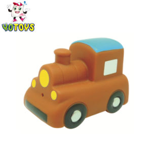 Factory Wholesale 2018 Rubber Truck Baby Toy Train Car