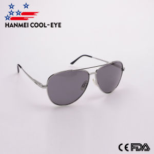 397174d0b8464 Military Style Classic Aviator Metal Fashion Sun Glasses with Spring Hinge