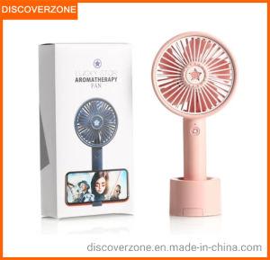 Gold LUCKSTAR Mini Fan 3-in-1 Multi-Function Portable Solar Cooling Table Fan Small Fan LED Table Lamp Flashlight Solar Light for Home Camping