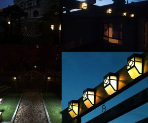Solar Powered Lights for House Outdoor, Landscape, Garden, Fence etc. pictures & photos