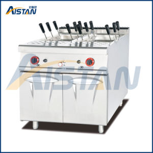 Gh988c Gas Pasta Cooker with Cabinet pictures & photos