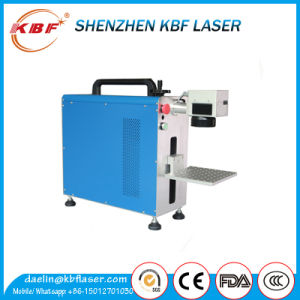 High Quality Portable Fiber Laser Marking Machine Price pictures & photos