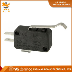 Factory Supply Lema Kw7-5 Bent Lever Sensitive Electric Micro Switch pictures & photos