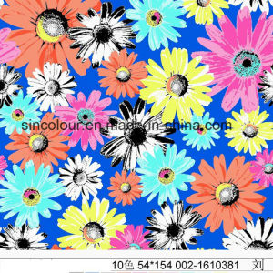 Daisy Printing 80%Polyamide 20%Elastane for Swimwear Fabric pictures & photos