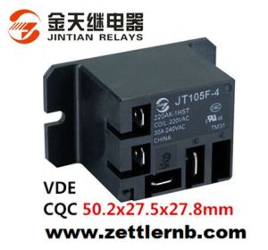 Miniature High Power Relay 105F4 40A with VDECQC high quality