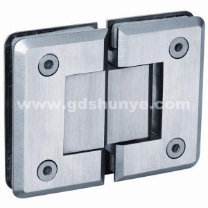 Stainless Steel Shower Door Hinge Bathroom Accessories Glass Clamp (SH-0342) pictures & photos