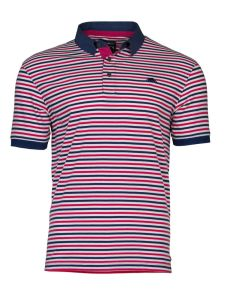2017 New Design Customized Men Cotton Fashion Stripe Short Sleeve Polo Shirts T-Shirts Clothing (S8280)
