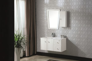 Wall-Mounted Solid Wood Sanitary Ware