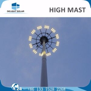 20m/30m electric Appliance Control LED Flad Pole Lights High Mast pictures & photos