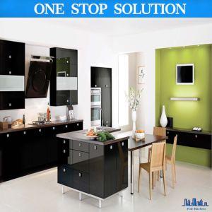 China Boutique High Gloss Black Kitchen Cabinets China Kitchen