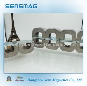Manufacture Customized Permanent AlNiCo Horseshoe Magnet for Electronic Motor with RoHS