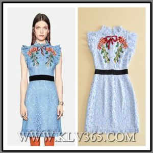 767aed0fa2 China Latest Dress Design Ladies Fashion Summer Lace Sexy Beaded ...