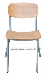 Modern Dining Metal Oak Copine Sean Dix Plywood Chair pictures & photos