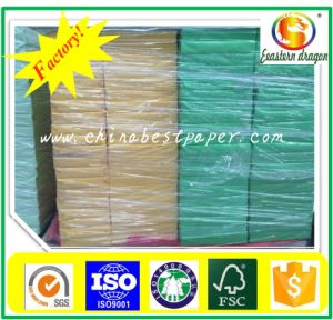 110GSM Uncoated Colour Paper Board pictures & photos