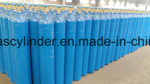 ISO9809 50liter Oxygen Gas Cylinder with Qf-6A Valve pictures & photos