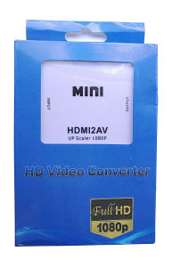 HDMI to AV Converter HD 1080P with Audio Input pictures & photos