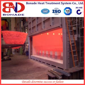 Professional Box Type Gas Heat Treatment Furnace for Quenching