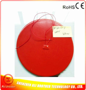 Silicone Rubber Heater for 3D Printer 220V 250W Diameter 300*1.5mm