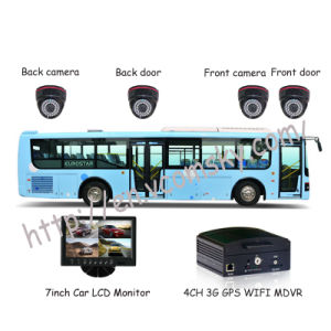 4 CH 3G Realtime Monitoring GPS H. 264 School Bus Vehicle Mobile DVR-Vcomsky pictures & photos