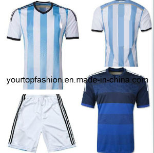 e4575c7e0 Free Shipping Messi 2014 Brazil World Cup Nationaljerseys Argentina Home  Blue White Jersey