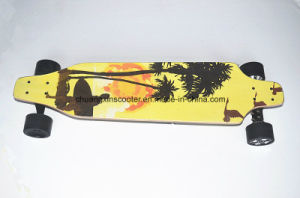 New Product Fashionable Original Design PU Electric Skateboard