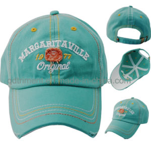 Washed Cotton Twill Embroidery Leisure Sport Baseball Cap (TM1119) pictures & photos