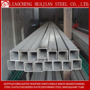 ERW Steel Pipe Square Pipe in Stock pictures & photos