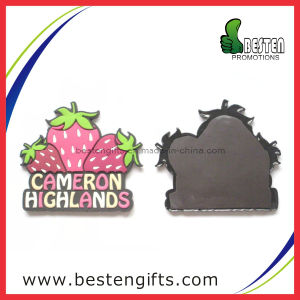 OEM Fruit Shape Soft Rubber PVC Fridge Magnet (PV00011)