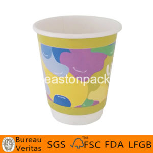 10oz Paper Coffee Cups Double Walled With Lids