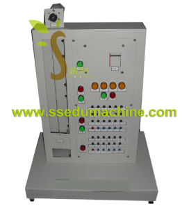 PLC Execute Object Elevator Teaching Model Vocational Training Equipment