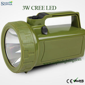 5W LED Search Light, Portable Light, Emergency Light,