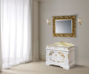 Hand Drawing Classical Bathroom Cabinet