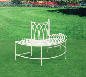 Fantastic Turin Half Circle Tree Bench Squirreltailoven Fun Painted Chair Ideas Images Squirreltailovenorg