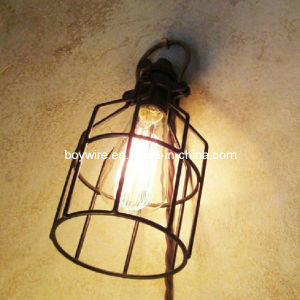 Antique Iron Lampshade with Edison Style Bulbs pictures & photos
