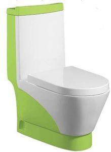 Wash Down One-Piece Toilet (A-0197B)