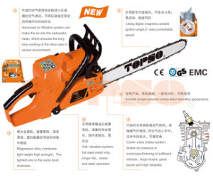 Topso Brand Chain Saw for Gardening Tool (YD-52 series) pictures & photos