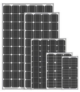 250W PV Solar Panel for off- Grid Solar Power System