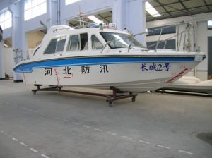 9.2 Meters Cabin Patrol Fiberglass Speed Boats pictures & photos