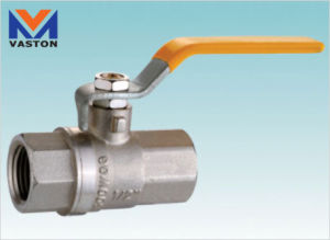 Brass Ball Valve with Aluminium Handle (VT-6228) pictures & photos