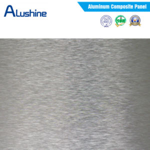 Silver Brush Aluminum Composite Panel (3mm and 4mm) pictures & photos