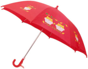 Manual Open Red Kid Umbrella (BD-61) pictures & photos