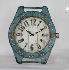 Antique Reproduction Metal Watch Clock