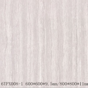 Line Stone Series Double Loading Porcelain Polished Tiles (6TPX008-1)