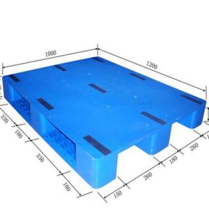 HDPE Large Heavy Duty Blow Molding Plastic Pallet 1200*1000mm /Tray pictures & photos