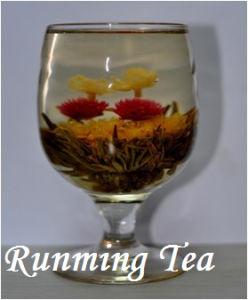 Shuang Xi Ling Men (double happiness green blooming tea, RMT-BMG019) EU  Standard