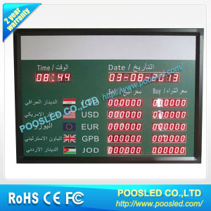 Bank Currency Exchange Rate Led Board