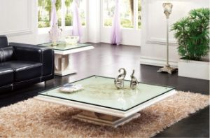 China Square Marble Stone Base Glass Top Coffee Table D8835 China Coffee Tables Glass Coffee Tables Contemporary