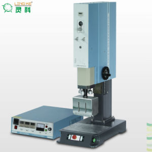 Ultrasonic Plastic Welding Machine for Cosmetic Bottle Cap pictures & photos