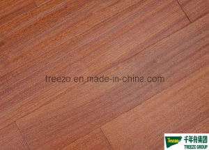 Antique Sapeli Engineered Wood Flooring (Handscraped flooring) (TG-SH-01)